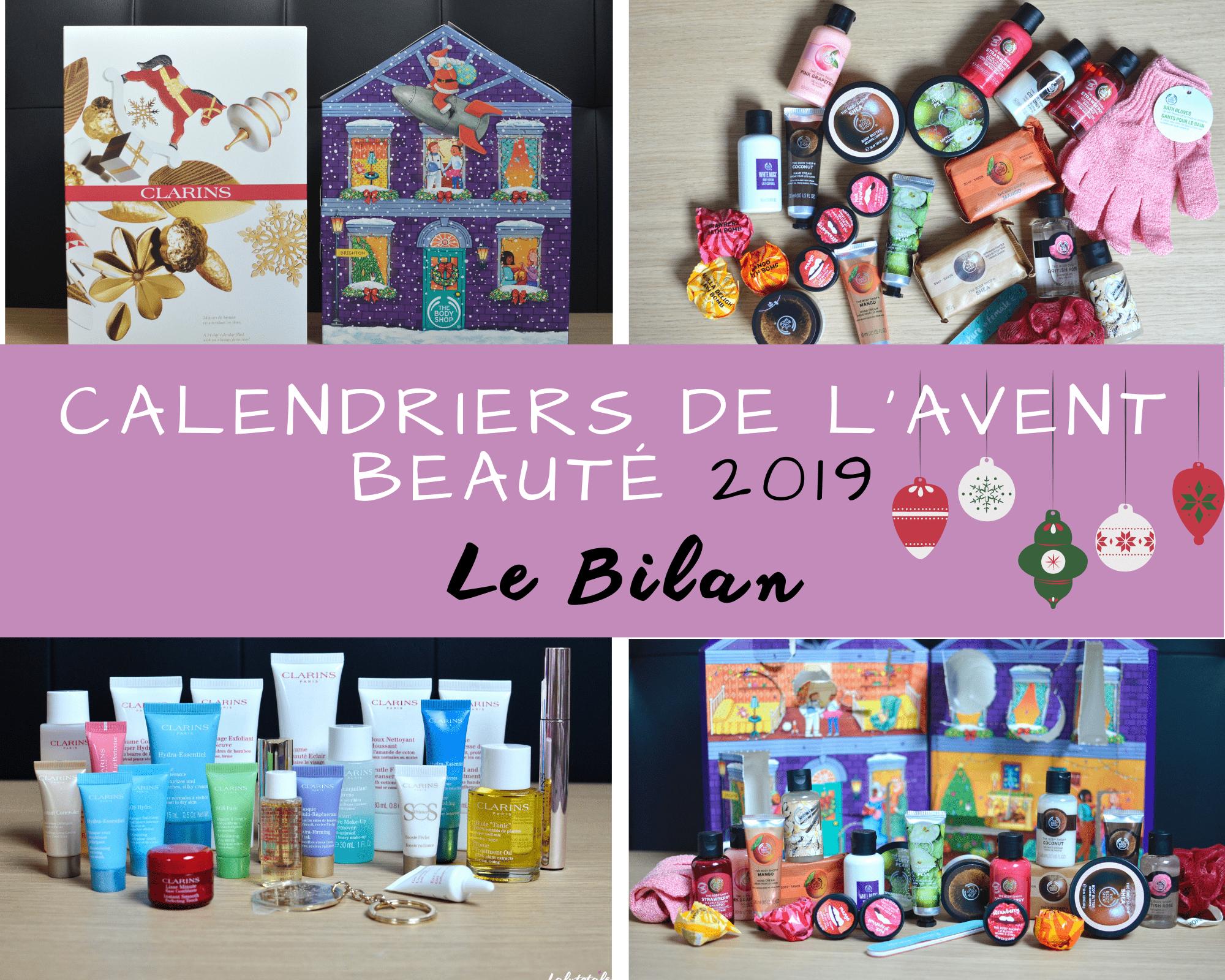 Mon BILAN des calendriers de l'Avent beauté 2019 (←non j'ai pas bu)