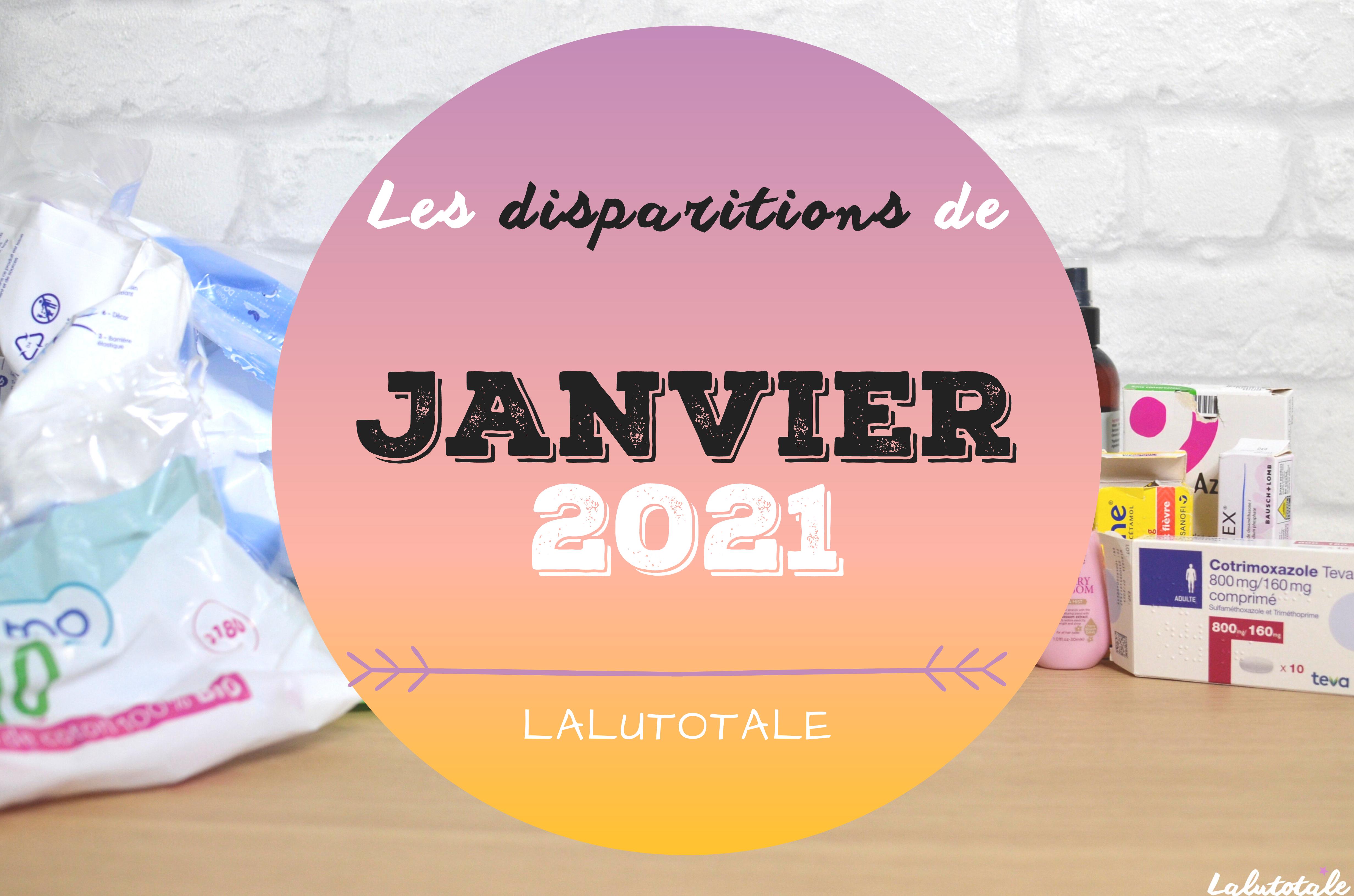 ✞ Les disparitions dans ma salle de bains en Janvier 2021 ✞