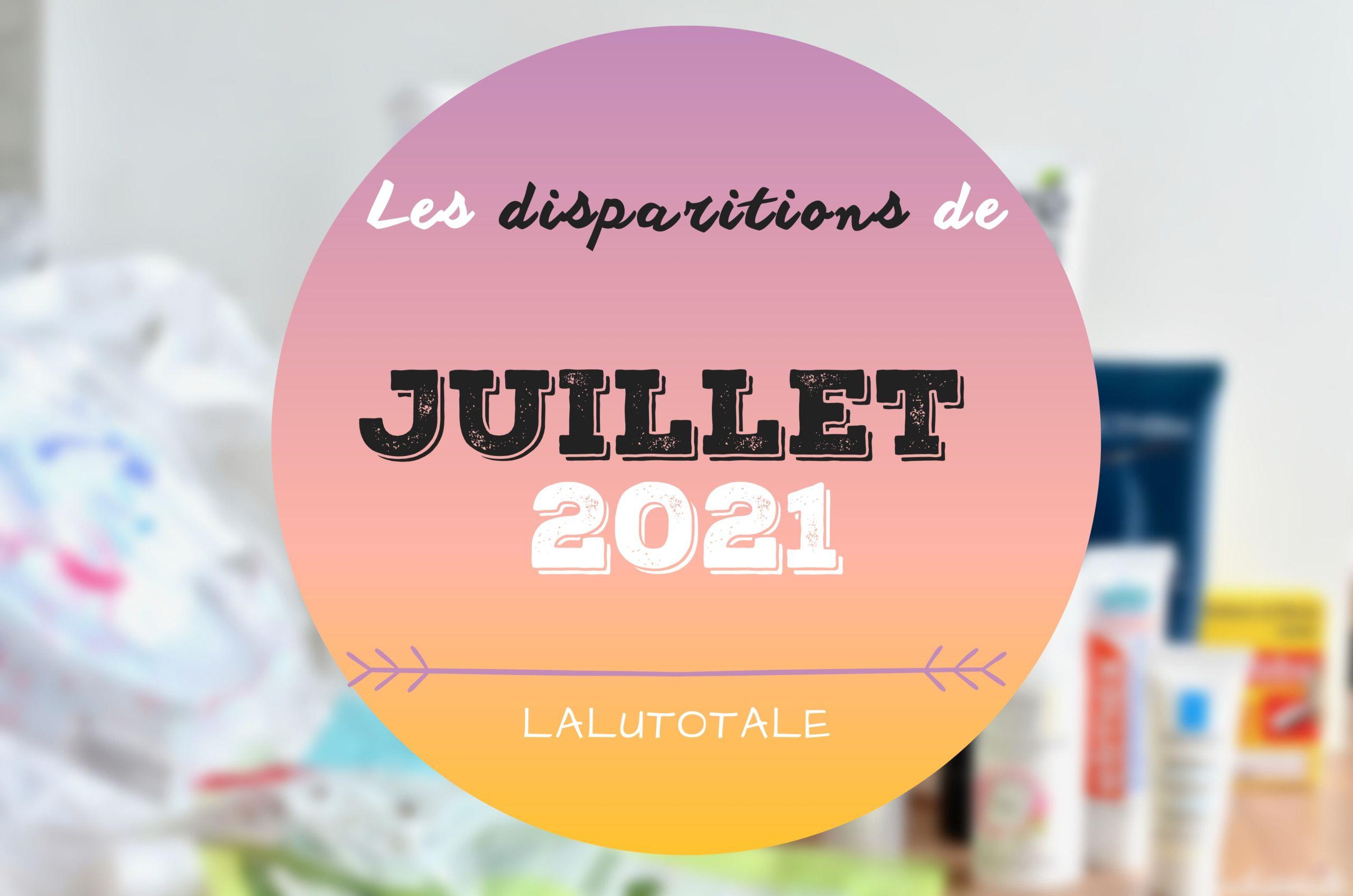 ✞ Les disparitions dans ma salle de bains en Juillet 2021 ✞