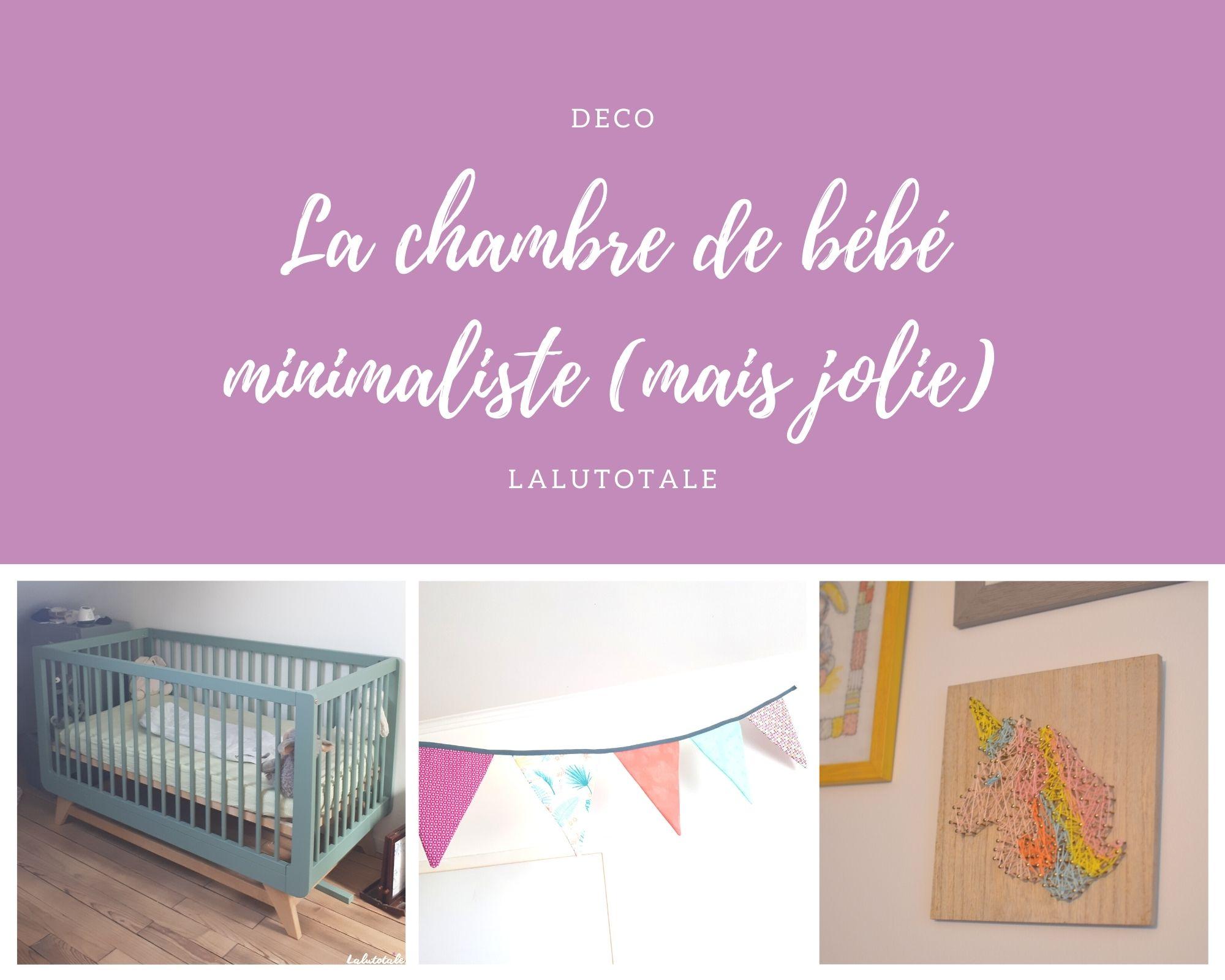 La déco dans la chambre de bébé : adepte du minimalisme joli ! 🌟
