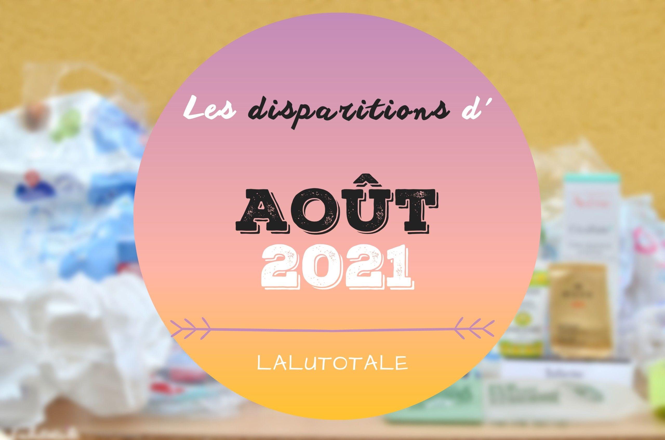 ✞ Les disparitions dans ma salle de bains en Août 2021 ✞