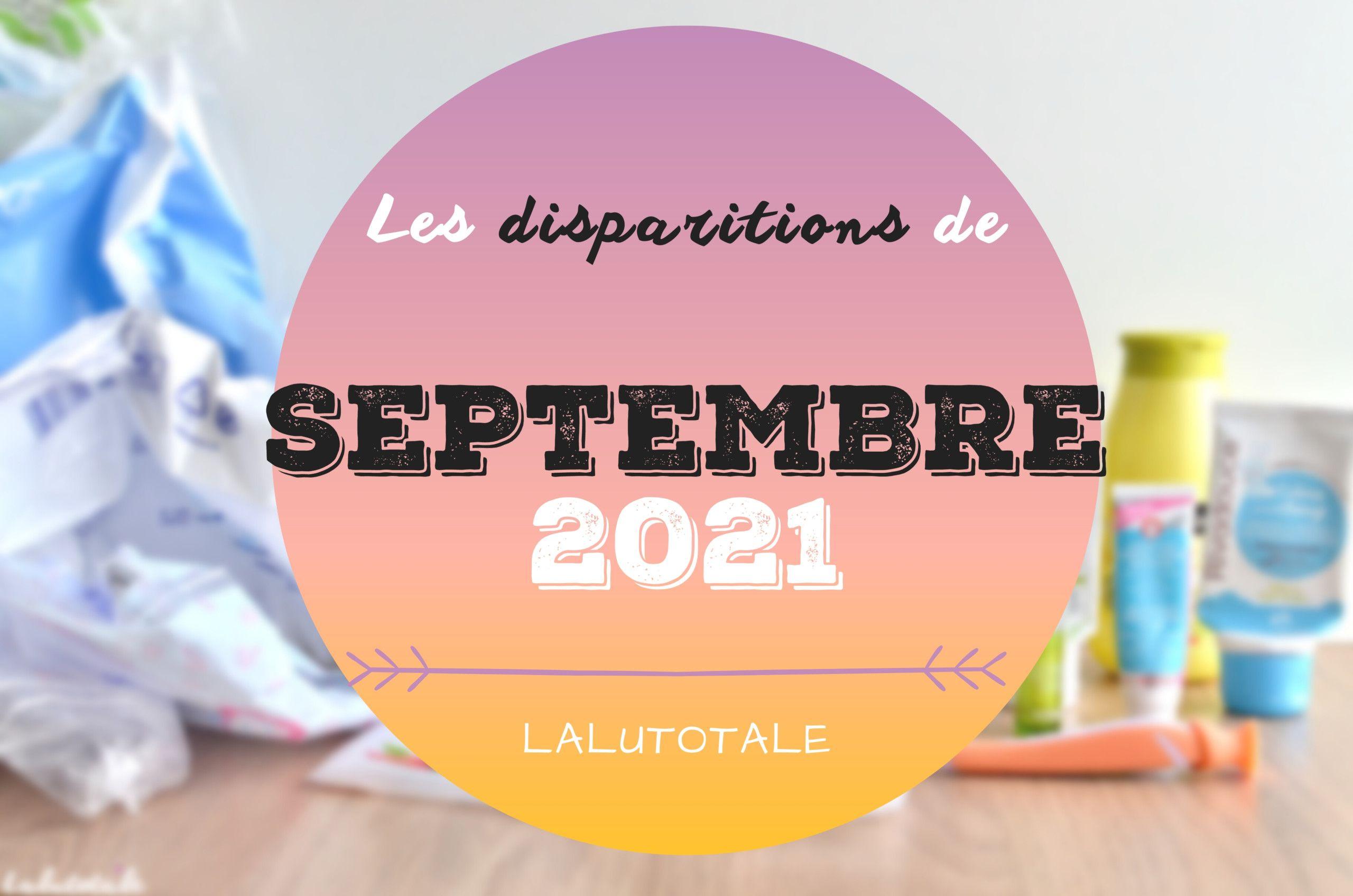 ✞ Les disparitions dans ma salle de bains en Septembre 2021 ✞